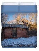 Galloway Homestead Cabin Duvet Cover