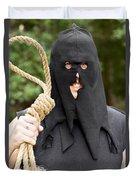 Gallows Hangman With Noose Duvet Cover