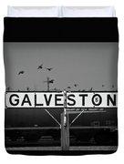 Galveston Train Yard Duvet Cover