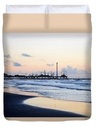 Galveston Tx 348 Duvet Cover