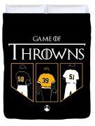 Game Of Throwns Duvet Cover
