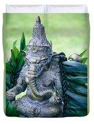 Ganesha Ganesa Ganapati Vinayaka Pillaiyar Hindu Pantheon Duvet Cover