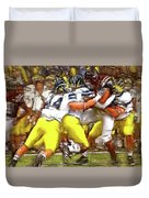 Gang Of Wolverines Duvet Cover