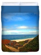 Garapata State Park South Of Monterey Ca Seven Duvet Cover