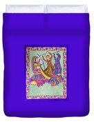 Garba Dance Duvet Cover