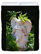 Garden Angel Duvet Cover