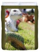 Garden Animals Duvet Cover