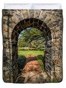 Garden Archway Duvet Cover