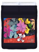 Garden Arrangement Duvet Cover
