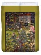 Garden At Vaucresson Duvet Cover