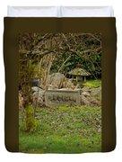Garden Babies Duvet Cover