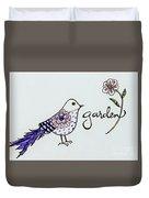 Garden Bird Duvet Cover