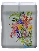 Garden Bouquet Duvet Cover