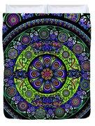 Garden Buddha Mandala Duvet Cover