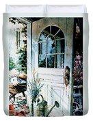 Garden Chores Duvet Cover