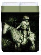 Garden Cowboy Duvet Cover