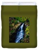 Garden Creek Falls Duvet Cover