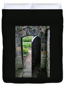 Garden Door Duvet Cover