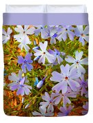 Flower Photography- Floral Art- Digital-floral Fireworks Duvet Cover