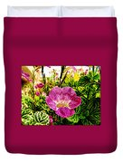 Garden Flower Duvet Cover