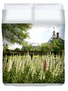Garden Flowers At The Governor's Palace Duvet Cover