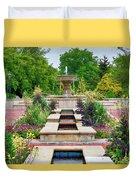 Garden Fountain Duvet Cover