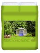 Garden Gazebo House Duvet Cover
