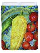 Garden Harvest Duvet Cover