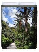 Garden In Menton Duvet Cover