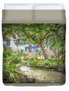 Garden In The Square Duvet Cover