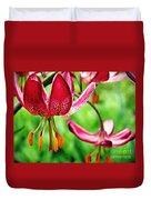 Garden Jewels 1 Duvet Cover
