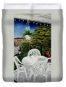 Garden Lights Duvet Cover