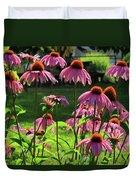 Garden Of Cones Duvet Cover
