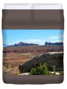 Garden Of Eden Rock Formations, Arches National Park, Moab Utah Duvet Cover