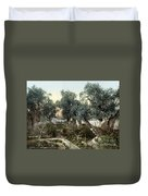 Garden Of Gethsemane Duvet Cover