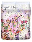 Garden Of Hope  Duvet Cover