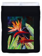 Garden Of Paradise Duvet Cover