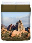Garden Of The Gods Colorado Springs Duvet Cover