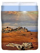 Garden Of The Gods Lanai Duvet Cover