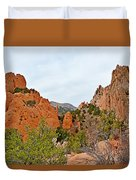 Garden Of The Gods Study 6 Duvet Cover