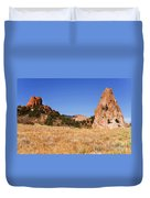 Garden Of The Gods View Duvet Cover