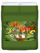 Garden Party Duvet Cover