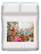 Garden Party/left Portion Duvet Cover