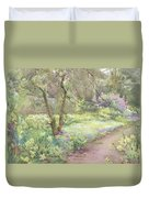 Garden Path Duvet Cover by Mildred Anne Butler