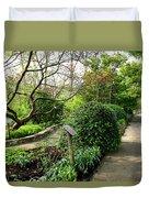 Garden Paths Duvet Cover