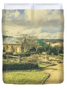 Garden Paths And Courtyards Duvet Cover