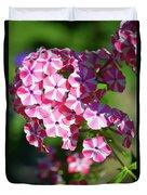 Garden Phlox Duvet Cover