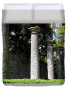 Garden Pillars Duvet Cover