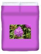 Garden Rhodoendron Plant Duvet Cover
