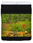 Garden Rocks Duvet Cover